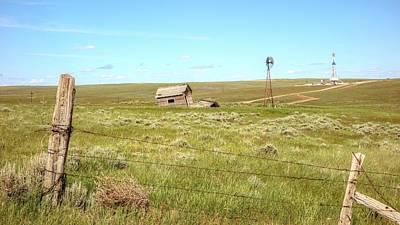Photograph - Nomac 302 Douglas Wyoming Iv by Lanita Williams