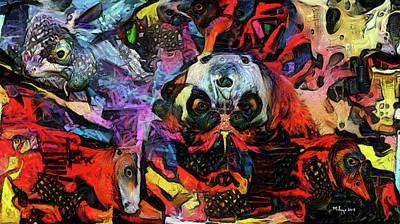 Digital Art - Nomad by Mike Butler