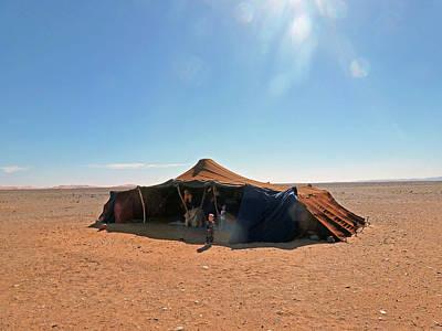 Photograph - Nomad Tent Sahara Desert Morocco by Allan Rothman
