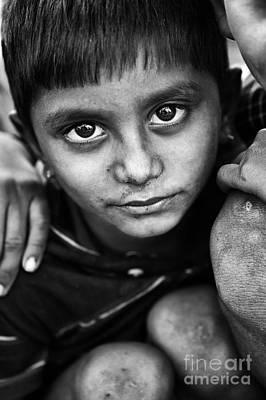 Nomadic Rajasthan Boy Art Print by Tim Gainey