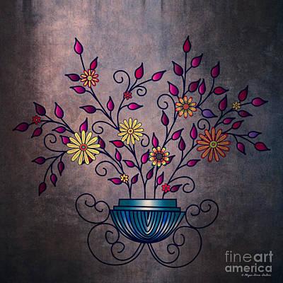 Digital Art - Non-biological Botanical 8 by Megan Dirsa-DuBois