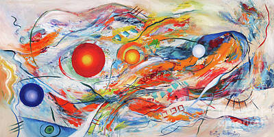 Painting -  Non-figurative Abstract by Betty Rubinstein