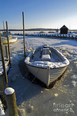 Habor Photograph - Non Fishing Today by Wedigo Ferchland