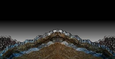 Digital Art - Non Geode by Michael Hurwitz