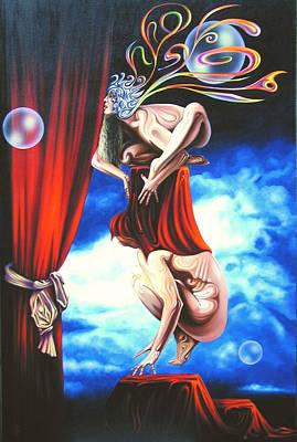 Premieres Painting - Non Traditional Kabuki Premiere. by Tautvydas Davainis