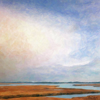 Photograph - Nonesuch River Marsh - Winter by Ann Tracy