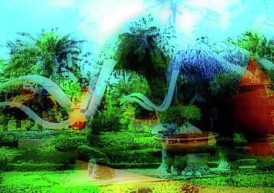 Photograph - Nong Nooch Gardens 36 by Ron Kandt
