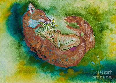 Nonie Of The Whimiscal And Magickal Realm No. 2288 Art Print by Ilisa Millermoon