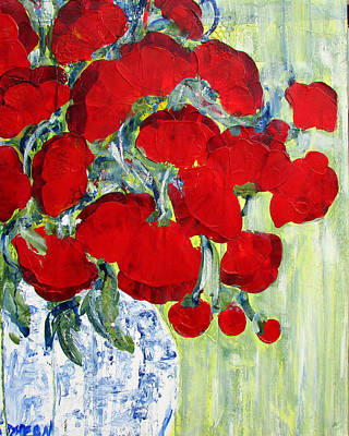 Painting - Noni's Poppies by Diane Dean