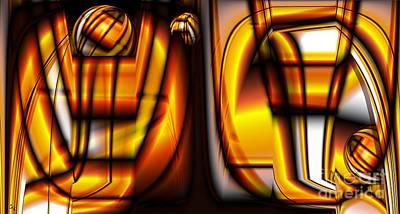 Digital Art - Nonstandard Ingots by Ron Bissett