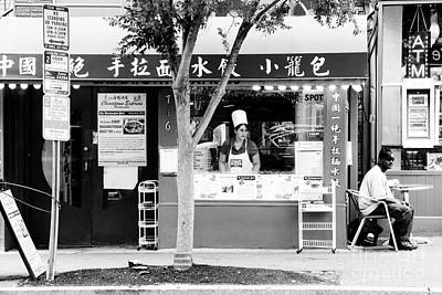 Washington Dc Street Scene Photograph - Noodle Shop by Thomas Marchessault