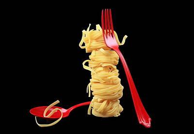 Noodles-pasta Art Print
