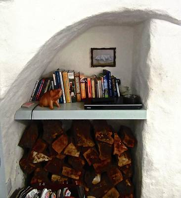 Photograph - Nook For Books And Firewood by Stephanie Moore