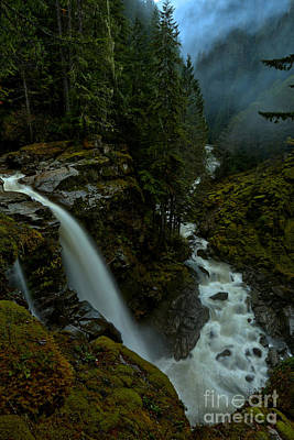 Photograph - Nooksack Plunge by Adam Jewell