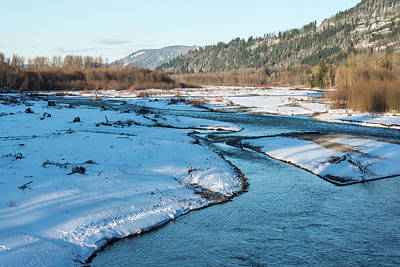 Photograph - Nooksack River On A December Afternoon by Tom Cochran