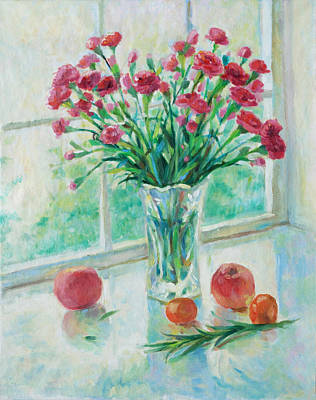 Still Life Painting - Noon Light On The Window by Tina Zhou