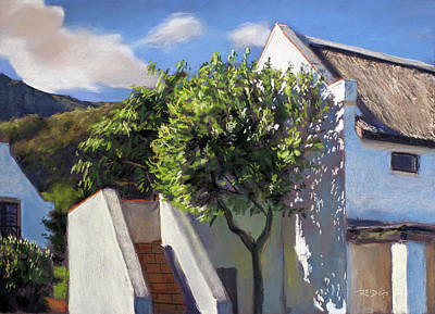 Painting - Noordhoek Farm Village by Christopher Reid