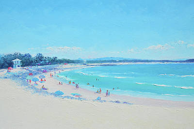 Painting - Noosa Main Beach by Jan Matson