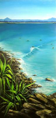 Noosa National Park Art Print