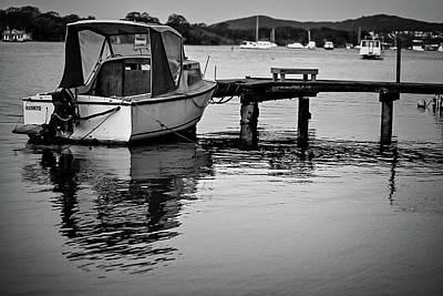 Photograph - Noosaville Boat by Robert Munden