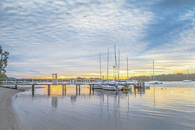 Photograph - Noosaville Jetty by Robert Munden