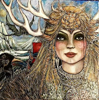 Painting - Nordic Tale by Rae Chichilnitsky