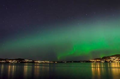 Photograph - Nordlys 3 by Adrian O Brien