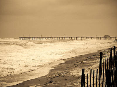 Noreaster Photograph - Nor'easter At Nags Head by Ches Black