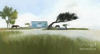 Digital Art - Noredney 5 by Georgina Hannay