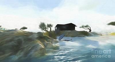 Digital Art - Noredney 6 by Georgina Hannay