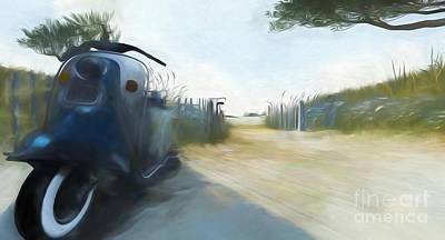 Digital Art - Noredney 7 by Georgina Hannay