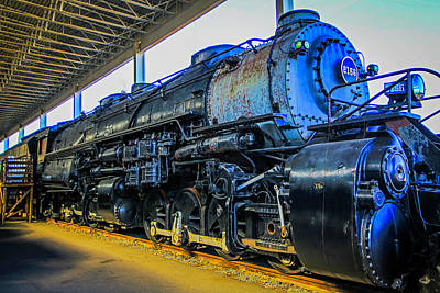 Photograph - Norfolk And Western 2156 by Bluemoonistic Images