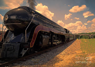 Photograph - Norfolk And Western Engine Number 611 by Melissa Messick