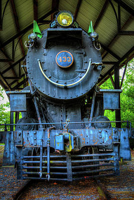 Photograph - Norfolk And Western No 433 by Dale R Carlson