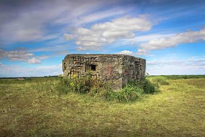 Photograph - Norfolk Bunker by Lee Harris