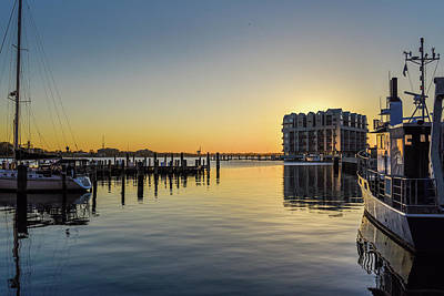 Photograph - Norfolk City Sunset.jpg by Doug Ash