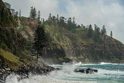 Photograph - Norfolk Island Coastline 01 by Werner Padarin