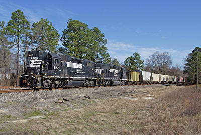Photograph - Norfolk Southern P77 by Joseph C Hinson Photography