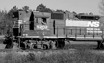 Photograph - Norfolk Southern 5202 A by Joseph C Hinson Photography