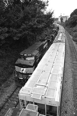 Photograph - Norfolk Southern 9354 by Joseph C Hinson Photography