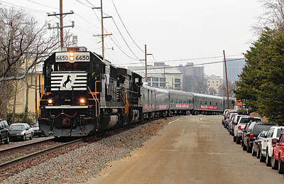 Photograph - Norfolk Southern Circus Train 2011 A by Joseph C Hinson Photography
