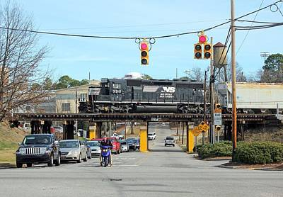 Photograph - Norfolk Southern Emd Sd40-2 3310 by Joseph C Hinson Photography