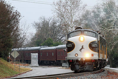 Photograph - Norfolk Southern F7a #4271 Color 10 by Joseph C Hinson Photography