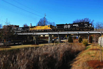 Photograph - Norfolk Southern In Columbia by Joseph C Hinson Photography
