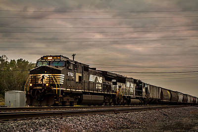 Photograph - Norfolk Southern by Ron Pate
