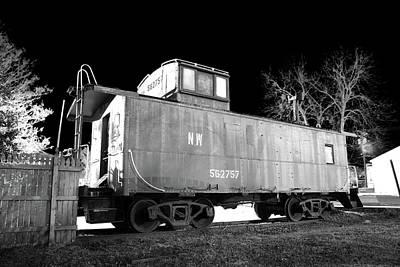 Photograph - Norfolk Western 562757 B W 2 by Joseph C Hinson Photography