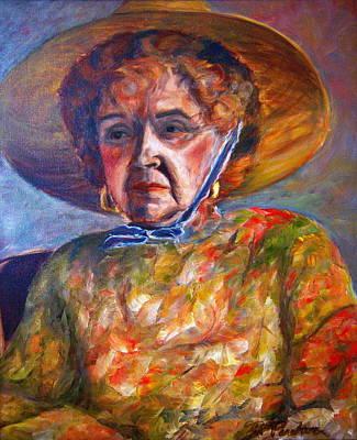 Contemplative Painting - Norma by Bonnie Peacher