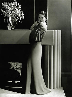 Hurrell Photograph - Norma Shearer by Chuck Staley