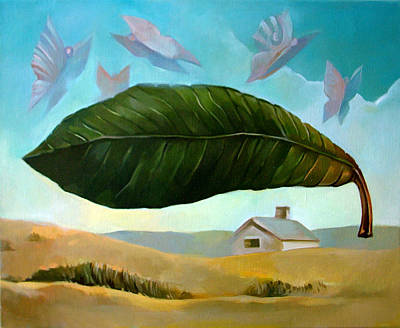Painting - Norman Leaf by Filip Mihail