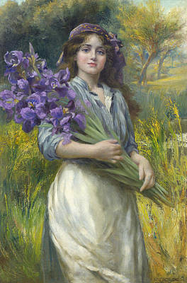 Norman Prescott Art Print